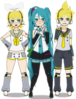 Kisekae: Vocaloid RML by cragy-paste