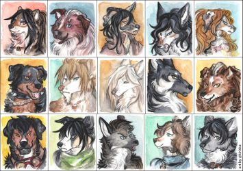 SoSuWriMo 2017 Avatar Batch by Kiriska