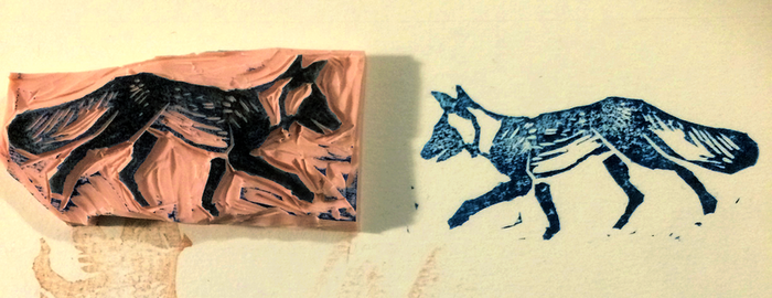 Fox Stamp by Quadrupedal
