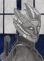 Madame Vastra by Jacura