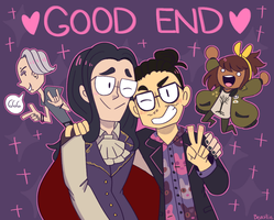 A Dream Daddy Doodle by Beartie
