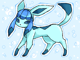 Glaceon by LazyBasy