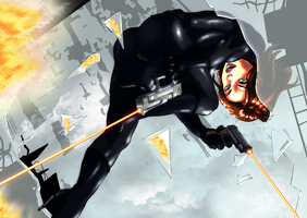 Black Widow - Firetrap by MassimoGuidi
