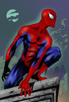 Spider-Man by Ed Tadeo by Blindman-CB