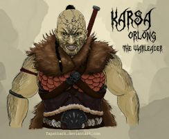 Karsa Orlong: The Warleader by YapAttack