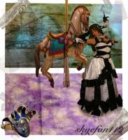 Dark Carnival Collage by AeliaNaqwiDesigns