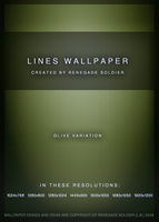Lines WallpaperOlive Variation by renegadesoldier
