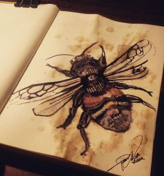 Kamane / bombus by MarchCoven