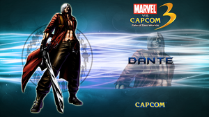 Marvel VS Capcom 3 Dante by CrossDominatriX5
