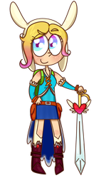 Fionna the Human by lila79