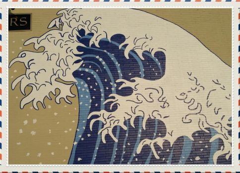 Hokusai Wave by Dartheddeus