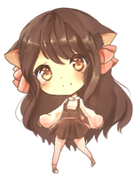 Chibi for Yumichoko by Sternenmelodie