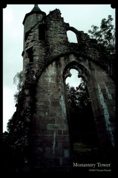 Monestary Tower by bloodyclaw