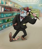Shopping Stan by Demona-Silverwing