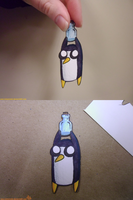 Gunter paper child by VickyViolet