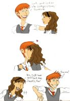 For Ron and Hermione Shippers by GraceFaceKelley