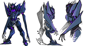 TF:P Soundwave sketches by Zenophrenic