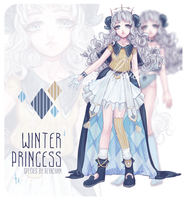 [Winter Princess] adopt auction [closed] by REYAchan