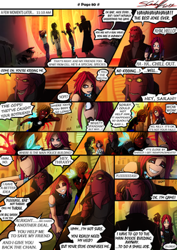 P.U. - Adventure Page 80 by Hevimell