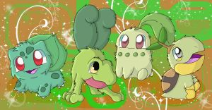 Grass Starters by chikadee34