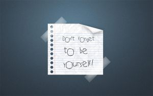 Be Yourself Widescreen Blue by afivos