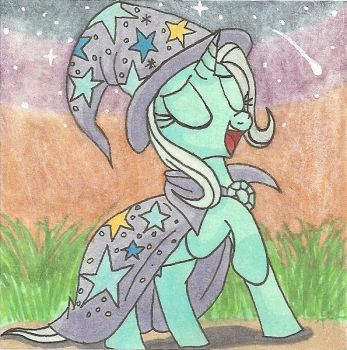 Bask in My Radiance Trixie Sticky Note by AgentEvans