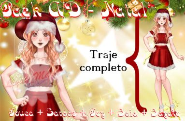 Pack AD - Roupa de Natal by LiyahMarih