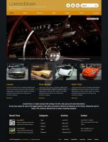 Barcelona WP Theme - Sport Cars Showcase Example by ait-themes