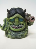 Sculpture 4 Little Monsters by jay222toys