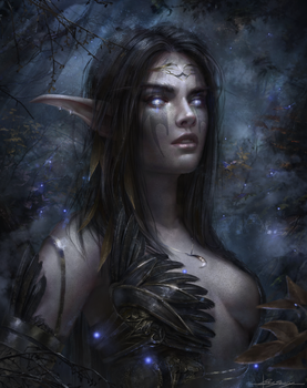 Night elf by Dropdeadcoheed