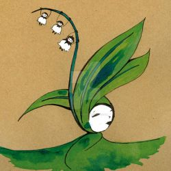 lily of the valley by Ozmoze-Land