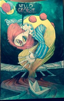 Pennywise the Clown by JeremyTreece