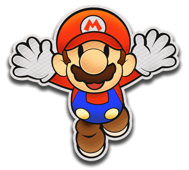 Paper Mario- Color Splash Style by Fawfulthegreat64