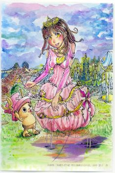 Princess M with Chopper by Shilphe