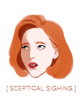 Scully by anoukkie