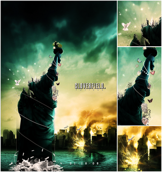 Cloverfield by Xeviousss