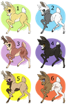 Deer Adoptables 2~5/6 Open~ by Xbox-DS-Gameboy