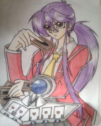 Valerie Yuno the Queen of Card Games by Bluecat16