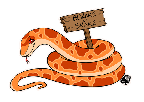 Bacon Snake by Miss-Melis
