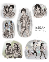 Remember those days - ASEAN by Marcusqwj