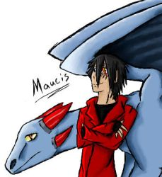 Maucis -Human and Dragon- by AnimeVSReality