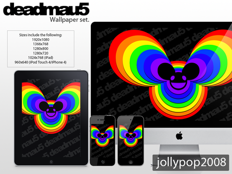 Deadmau5 Wallpaper Set - Pack by jollypop2008