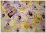 PANSIES AND VIOLAS THE PURPLE AND GOLD by GeaAusten