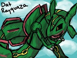 Rayquaza - Pokemon by Selaphi