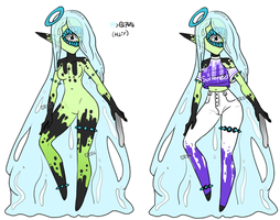 Xynthii Halloween Advent 2016: Day 22: Goop/Slime by ObsceneBarbie