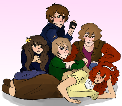 APH OC Breakfast Club by pierulestheworld