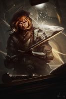 Blacksmith of Imperial by drawinguy