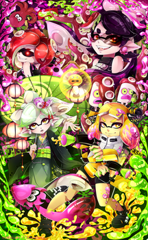 Splatoon 2 : Contest Entry by Invidiata