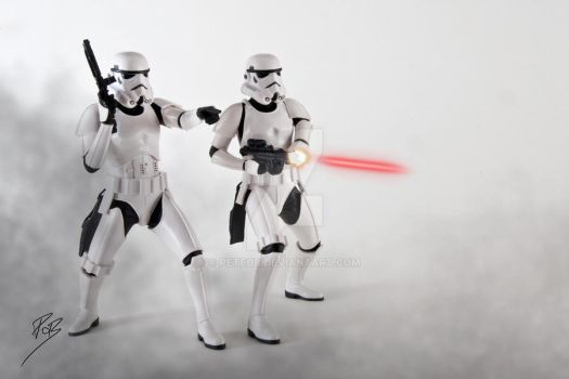 Imperial Stormtroopers by PeteOB