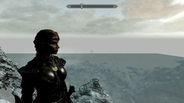 Skyrim: Throat of the World by luv2sing57
